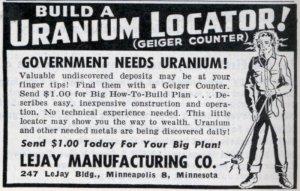 anunci publicitari de l'urani
